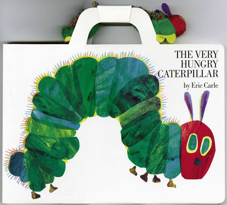 The Very Hungry Caterpillar Giant Board Book and Plush package