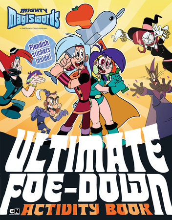 Ultimate Foe-down Activity Book