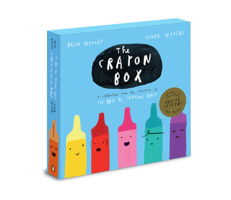 The Crayon Box: The Day the Crayons Quit Slipcased edition