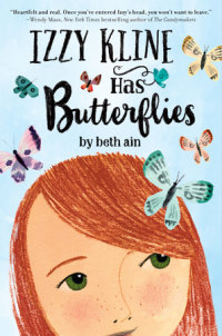 Cover of Izzy Kline Has Butterflies cover