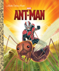 Book cover for Ant-Man (Marvel: Ant-Man)
