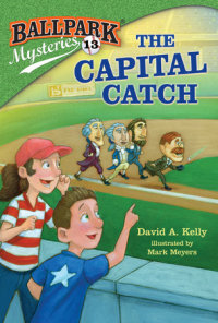 Book cover for Ballpark Mysteries #13: The Capital Catch