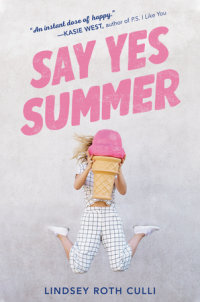 Cover of Say Yes Summer cover