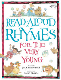Cover of Read-Aloud Rhymes for the Very Young