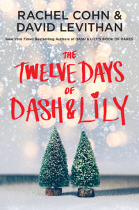Book cover for The Twelve Days of Dash & Lily