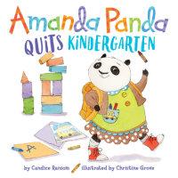 Book cover for Amanda Panda Quits Kindergarten