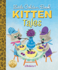 Book cover for Little Golden Book Kitten Tales