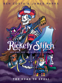 Book cover for Rickety Stitch and the Gelatinous Goo Book 1: The Road to Epoli