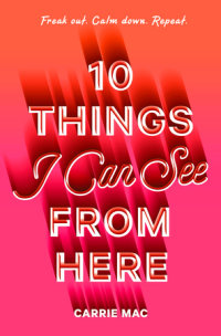 Cover of 10 Things I Can See From Here cover