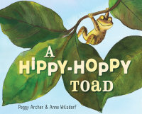 Cover of A Hippy-Hoppy Toad cover