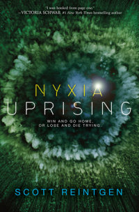Book cover for Nyxia Uprising