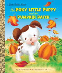 Book cover for The Poky Little Puppy and the Pumpkin Patch