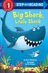 Book cover for Big Shark, Little Shark