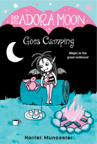 Book cover for Isadora Moon Goes Camping