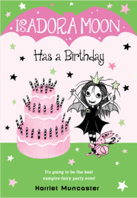 Book cover for Isadora Moon Has a Birthday