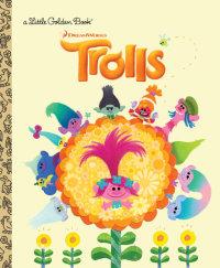 Book cover for Trolls Little Golden Book (DreamWorks Trolls)