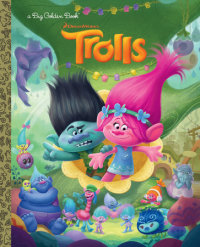 Cover of Trolls Big Golden Book (DreamWorks Trolls) cover