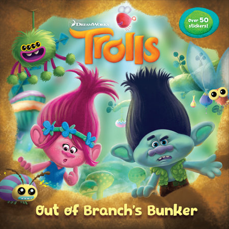 Out of Branch's Bunker (DreamWorks Trolls)