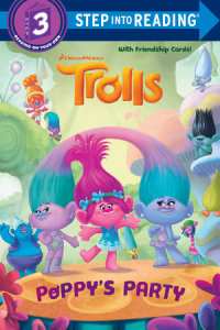 Book cover for Poppy\'s Party (DreamWorks Trolls)