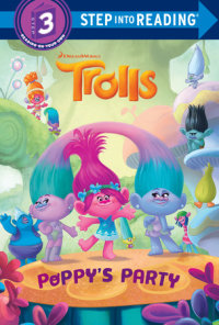 Cover of Poppy\'s Party (DreamWorks Trolls) cover