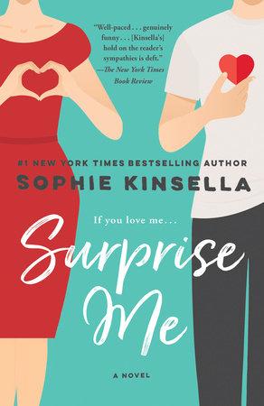 Surprise Me book cover