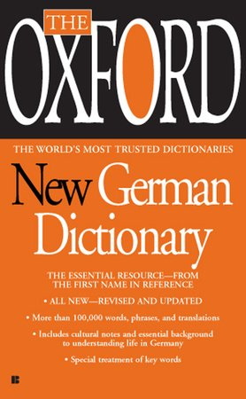 The Oxford New German Dictionary