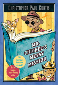 Book cover for Mr. Chickee\'s Messy Mission