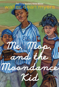 Book cover for Me, Mop, and the Moondance Kid