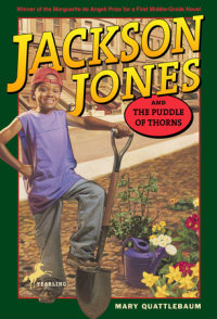 Book cover for Jackson Jones and the Puddle of Thorns
