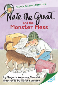 Book cover for Nate the Great and the Monster Mess