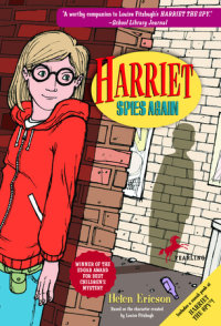 Book cover for Harriet Spies Again