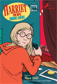 Book cover for Harriet the Spy, Double Agent