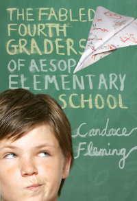 Book cover for The Fabled Fourth Graders of Aesop Elementary School