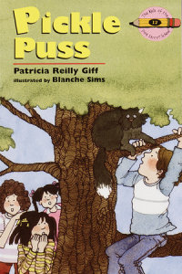 Book cover for Pickle Puss