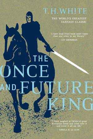 Cover image for The Once and Future King