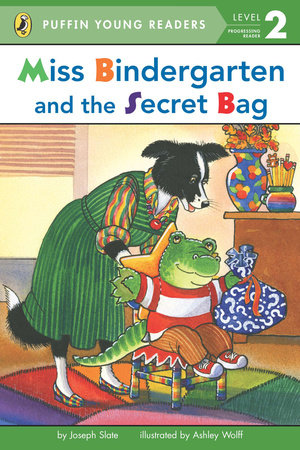 Miss Bindergarten and the Secret Bag