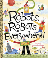 Book cover for Robots, Robots Everywhere!