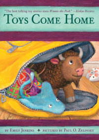 Book cover for Toys Come Home