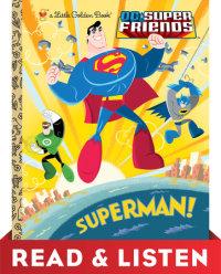 Book cover for Superman! (DC Super Friends) Read & Listen Edition