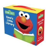Book cover for Elmo\'s Little Library (Sesame Street)