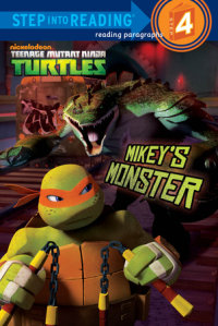 Book cover for Mikey\'s Monster (Teenage Mutant Ninja Turtles)