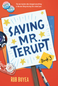Cover of Saving Mr. Terupt cover