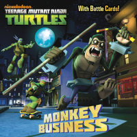 Book cover for Monkey Business (Teenage Mutant Ninja Turtles)