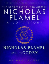 Book cover for Nicholas Flamel and the Codex