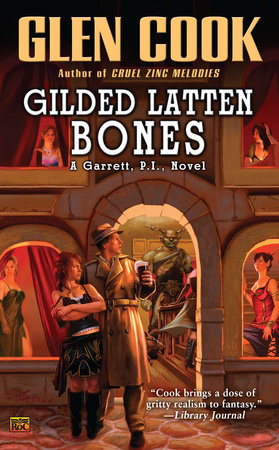 Gilded Latten Bones