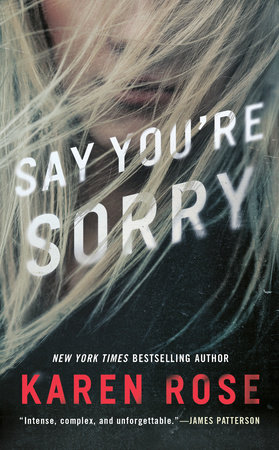 Cover image for Say You're Sorry