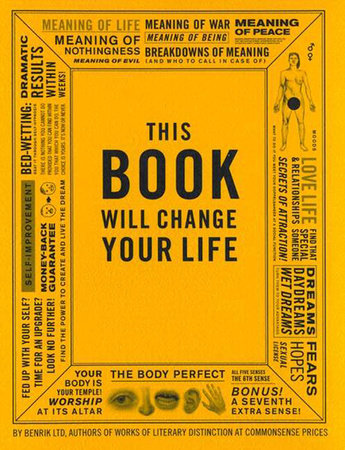 This Book Will Change Your Life
