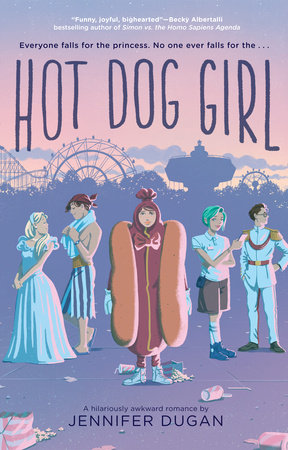 Cover image for Hot Dog Girl