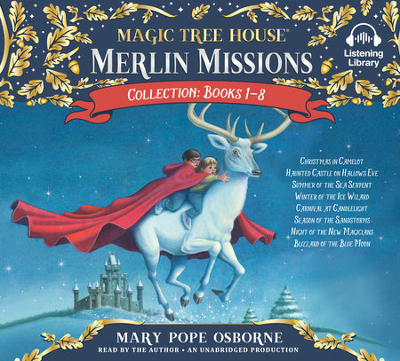 Merlin Missions Collection: Books 1-8