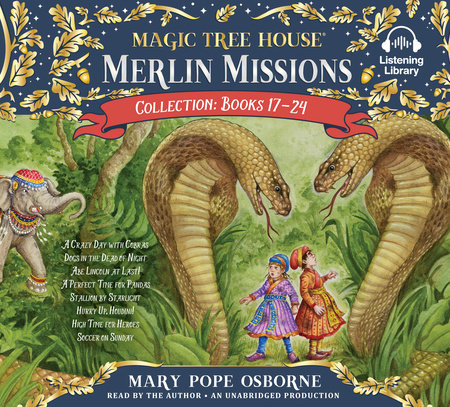 Merlin Missions Collection: Books 17-24